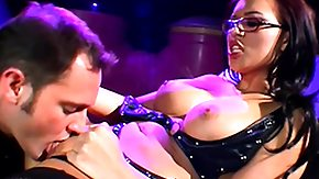 HD Booty Licious Sex Tube Bootylicious young geek babe in swarthy leotard loves deep penetration