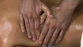 Free Diamond Foxxx HD porn videos Brunette MILF Diamond Foxxx in high heels with huge boobs on her tanned turned-on body gets hands on oiled massaged by exasperating aroused guy Mick Blue on massage