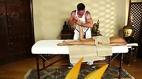 Latina Massage, Amateur, Babe, Brunette, High Definition, Latina
