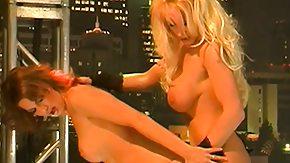 Lesbian Strapon, Best Friend, Big Pussy, Big Tits, Blonde, Boobs