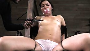 Punishment, BDSM, Boobs, Brunette, Fetish, Flat Chested