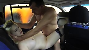 HD Hot German amateur in shiny leggings gives a handjob and blowjob