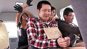 Virgin, 18 19 Teens, Asian, Barely Legal, Brunette, Bus
