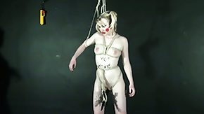 Body Painting, BDSM, Blonde, Body Painting, Dominatrix, Femdom
