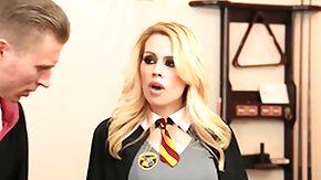 Student, Babe, Beauty, Blonde, Blowjob, Cumshot