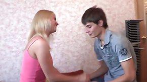 Teenies, 18 19 Teens, Ball Licking, Barely Legal, Blonde, Blowjob