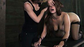 Lezdom, BDSM, Big Clit, Big Tits, Boobs, Brunette