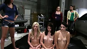 Teen Lesbian, Ass, Blonde, Brunette, College, Group