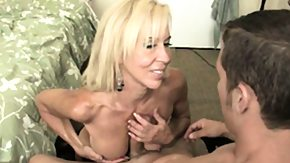 Granny, Big Cock, Big Tits, Blonde, Boobs, Experienced