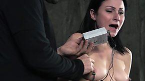 Whipping, BDSM, Brunette, Fetish, High Definition, Leggings