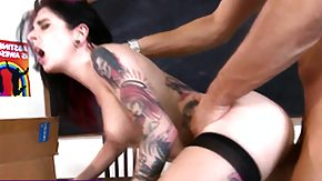 Free Rimming HD porn videos Goth pornstar rimmed and smashed