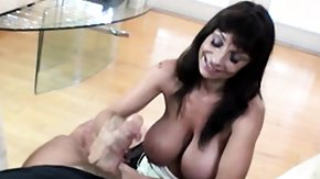 Grandma, Big Cock, Big Tits, Boobs, Brunette, Experienced