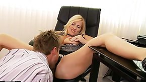 Office, Big Tits, Blonde, Blowjob, Boss, Fucking