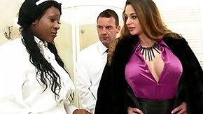 Black Maid, 3some, Big Tits, Black, Black Big Tits, Black Mature