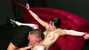 Bdsm, BDSM, Blowjob, Brunette, Choking, Fetish