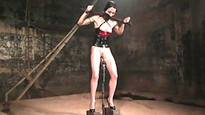 Spreading, BDSM, Bondage, Boots, Bound, Fetish