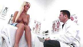 POV, Blonde, Blowjob, Doctor, Hospital, MILF