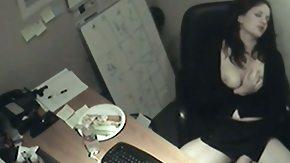 Secretary, Brunette, Candid, Fingering, Hidden, Hidden Cam