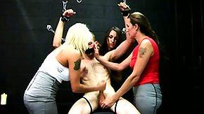 Femdom, Babe, BDSM, Blonde, Brunette, CFNM