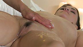 Lesbian Massage, Blonde, Brunette, Hairy, Horny, Lesbian