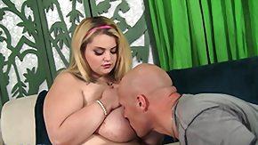 Sasha Blond, BBW, Big Tits, Blonde, Blowjob, Boobs