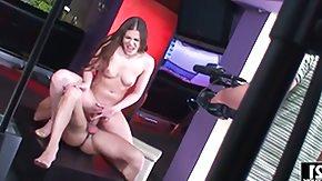 Rebecca Contreras, Babe, Ball Licking, Big Tits, Blonde, Blowbang