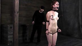 Anal Slave, Anal, Assfucking, BDSM, Bound, Brunette