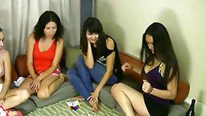 Asia HD porn tube Strip Estonian Roulette with Asia Iris Tatiana and Berenika