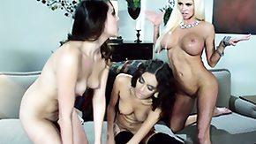 Zoey Foxx, 3some, Big Tits, Blonde, Boobs, Brunette