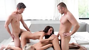 Foursome, 4some, Blonde, Blowjob, Brunette, Foursome