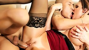 Busty Riding High Definition sex Movies Busty glam babe rides rod