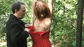 Spanking, BDSM, Bound, Fetish, Forest, Fucking