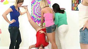 Lesbian Orgy, Blonde, Brunette, Group, High Definition, Lesbian