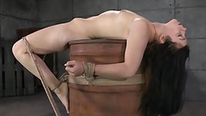 Tied Up, BDSM, Bondage, Bound, Brunette, Hogtied