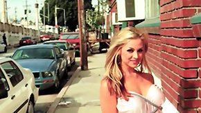 Sara Sloane, Big Tits, Blonde, Legs, Spreading