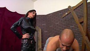 First Time, BDSM, Big Tits, Boobs, Brunette, Dominatrix