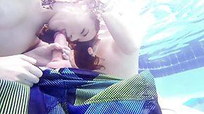Underwater, Babe, Bath, Bathing, Bathroom, Blowjob