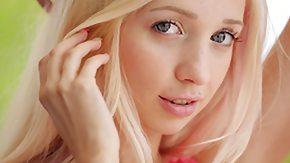 Angel Blond, Blonde, Blue Eyes, Dress, Solo, Tattoo