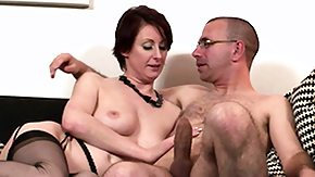 Mature Stocking, Bend Over, Brunette, Doggystyle, Drilled, European