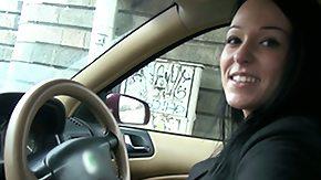 Taxi, Amateur, Blowjob, Brunette, Car, High Definition