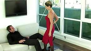 Lady, Blowjob, Cash, Dress, European, Fucking