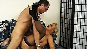 Cougar Stockings, Big Tits, Black Granny, Blonde, Boobs, Cougar