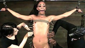 Nikki Darling, Babe, BDSM, Black, Boobs, Ebony