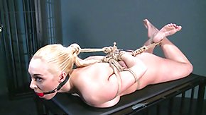 Tied Up, BDSM, Big Tits, Blonde, Blowjob, Bound