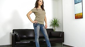 Casting, Audition, Babe, Barely Legal, Behind The Scenes, Brunette