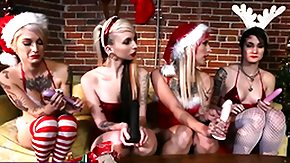 Joanna Angel, Blonde, Brunette, Fetish, Goth, High Definition