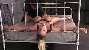 Bbc Blonde, BDSM, Bed, Big Black Cock, Big Tits, Blonde