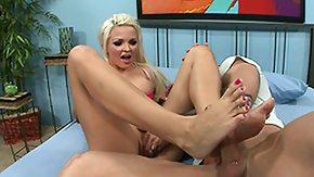 Jenna Lovely, Adorable, Blonde, Feet, Fetish, Fucking