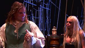 Pirates, Babe, Blonde, Costume, High Definition, Riding