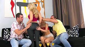 Claudia Adams, Assfucking, Ball Licking, Bed, Bend Over, Bimbo